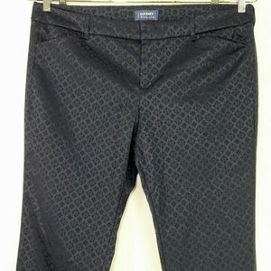 Old Navy Jacquard Pixie Mid-Rise Ankle Pants
